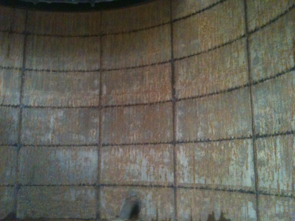 Before Sprinkler Tank Repair