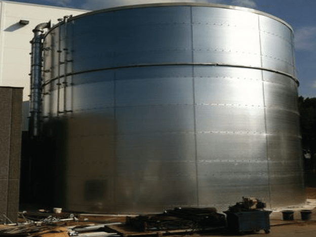 Fire Tank Installation Project