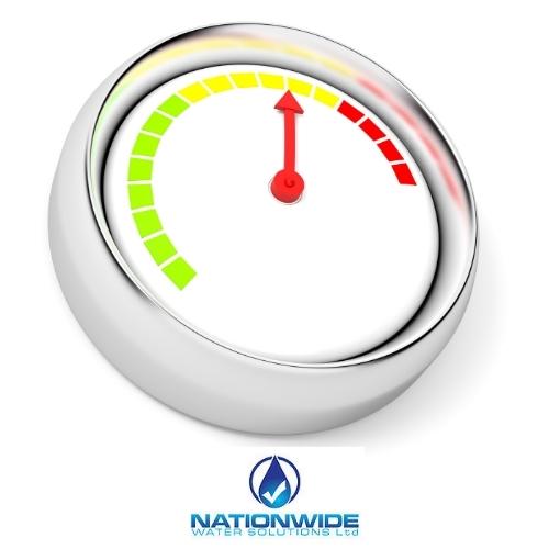 sprinkler tank contents gauge