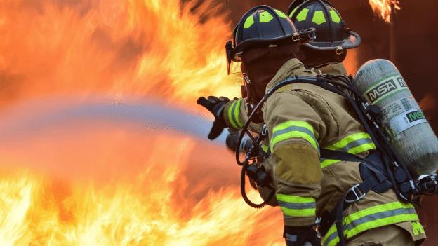 industrial estate fire