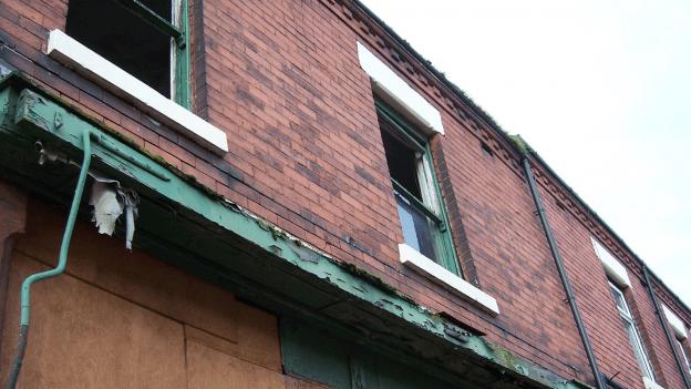flats above shops